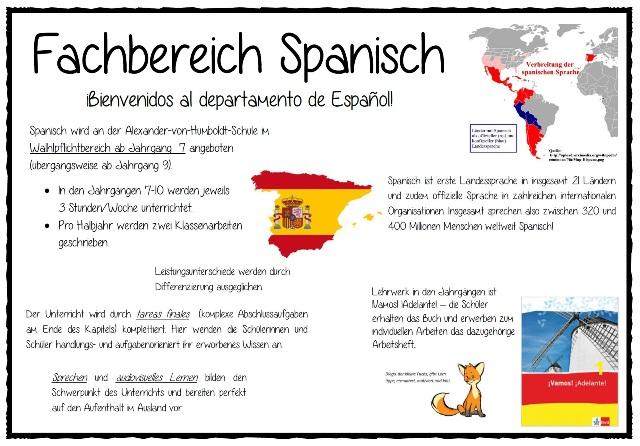 Fachbereich Spanisch
