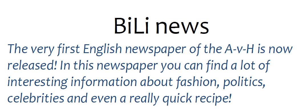 Bili Headline