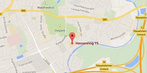 Ihr Weg zur AvH in Rüsselsheim am Main