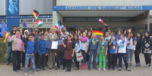 Zertifizierung 2015-2020 der AvH als Europaschule des Landes Hessen